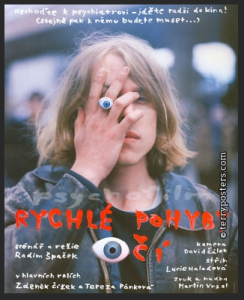 poster Rychle pohyby oci